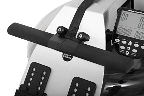 WaterRower S1 – Máquina de Remo para Fitness (cinturón de Pecho), Color Acero Inoxidable Cepillado