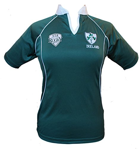 Full Time Rugby Apparel Ireland Ladies Rugby Shirt 14-16 X Large Green ()