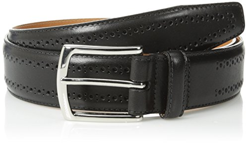 Allen Edmonds Men's Manistee Belt, Black, 40