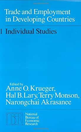 Trade and employment in developing countries volume 1 individual studies 001 - Bureau for economic research ...