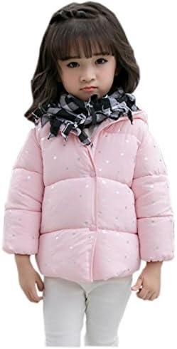 TAIYCYXGAN Unisex Baby Boys Girls Winter Outwear Coat Kids Warm Puffer Hoodies Jacket Zipper Up