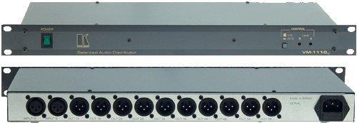 Kramer Electronics VM-1110XL 1:5 (Stereo) DA or 1:10 (Balanced) Mono Audio Distribution Amplifier