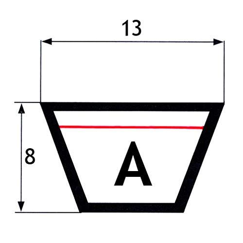 mm OFT classique 13x8x1105 Courroie trap/ézo/ïdale A43.5