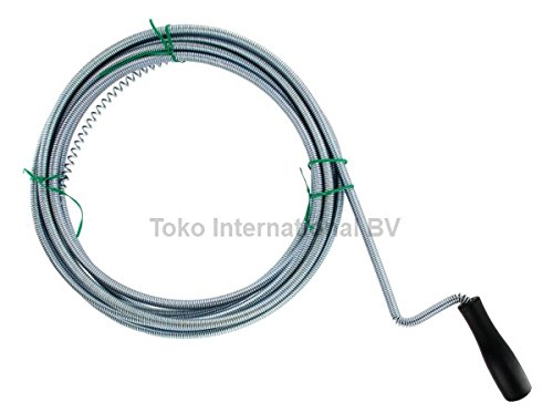 drain cleaner Flexible drain spiral pipe cleaning spiral 5 m x 8 mm