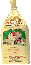 Old Mill of Guilford - Yellow Old Fashioned Southern Style Grits, 2 Lbs
