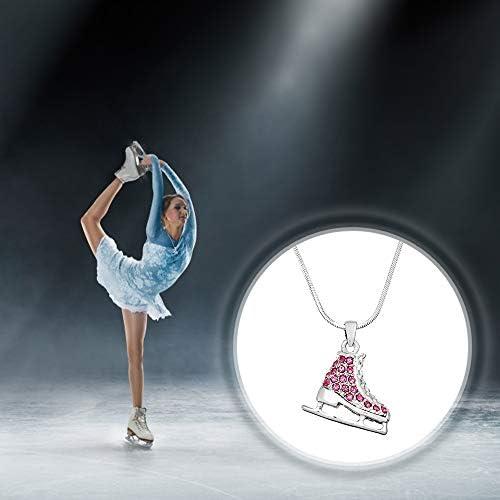 Amazon.com: Lola Bella Regalos Skater para patines de hielo ...
