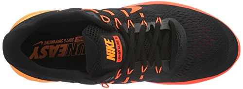 Nike Lunarglide 8, Zapatillas de Running para Hombre Negro (Black / Multi-Color-Team Red-Total Crimson)