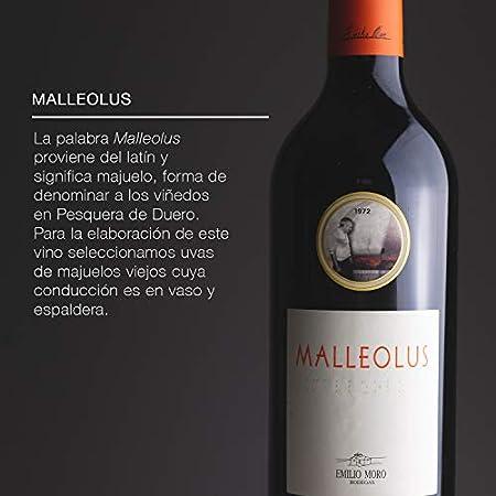 Emilio Moro - Malleolus, Vino Tinto, Tempranillo, Ribera del Duero, 750 ml