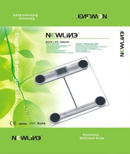 Newline Step-on Auto Display Digital Bathroom Scale