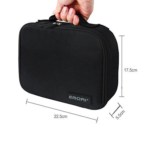 Electronic Organizer Bag for iPad Mini,Power Bank,External
