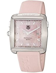 TAG Heuer Womens WAE1114.FT6011 Tiger Woods Professional Rubber Sports Watch