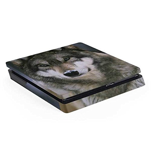 Animal Photography PS4 Slim (Console Only) Skin - Gray Wolf at International Wolf Center | Animals & Skinit Skin by Skinit