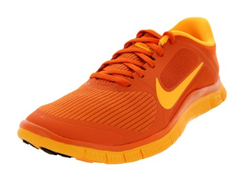 the latest 763c2 a93cd Nike Men's Free 4.0 V3 Urban Orange/Laser Orange Running ...