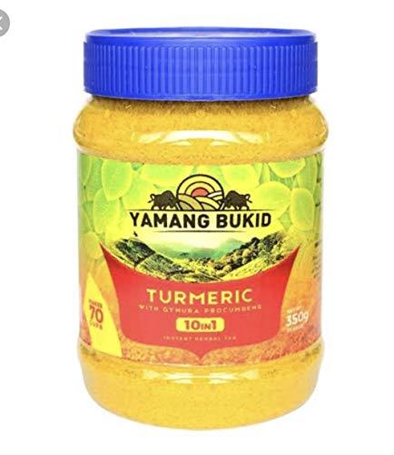Turmeric 10-in-1 Herbal Tea (Yamang Bukid's) 350g (Herbal Pandan Supplement)