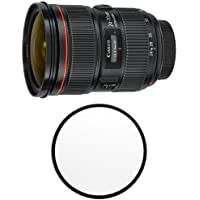 Canon EF 24-70mm f/2.8L II USM Standard Zoom Lens with B+W 82mm Clear UV Haze