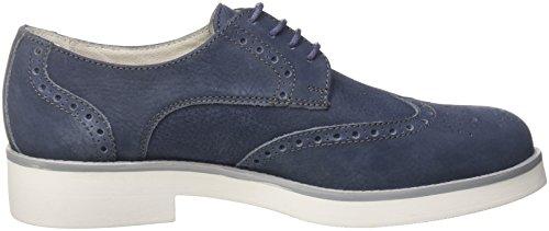 Mujer Zapatos ab4 20449 Azul Derby Cordones de Navy Navy Soldini g para q1twxS18