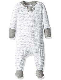 Unisex Baby Organic Zip Front Non-Slip Footed Sleeper...