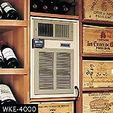 Breezaire WKE-8000 Wine Cellar Cooling Unit -Max Room Size = 2000 cu ft