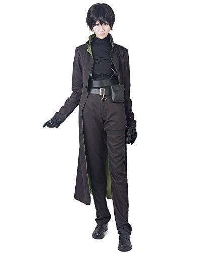 (miccostumes Men's Darker Than Black HEI Cosplay Costume (L, Black))