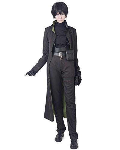 Miccostumes Men's Darker Than Black HEI Cosplay Costume (M, Black)