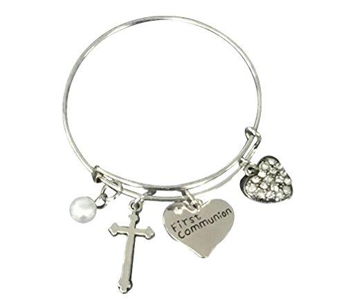 First Communion Bracelet, First Communion Gifts, Girls Fi...