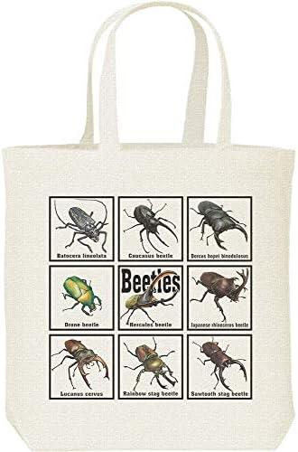 エムワイディエス(MYDS) 甲虫類(カブトムシの仲間たち)/キャンバス M トートバッグ
