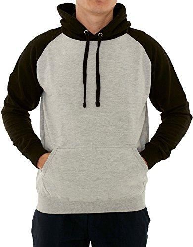 New York Avenue Men's Hooded Sweatshirt - Soft Light Fleece Pullover Hoodie...