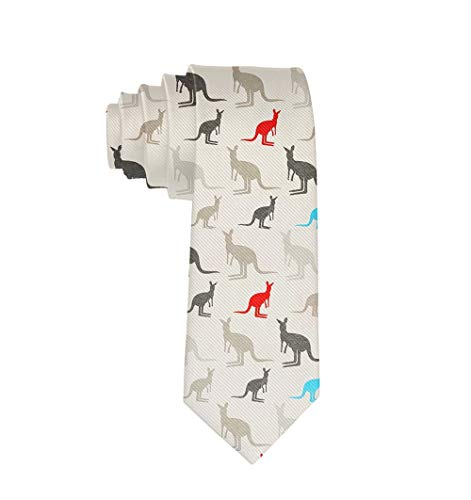 Australia Kangaroos Prom Costume Tie Wedding Neck Ties Neck Wear -