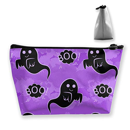 Funny Halloween Small Travel Makeup Pouch Toiletries Storage Organizer Bags ()