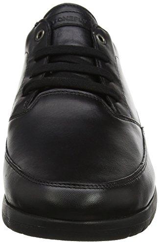 Man Black Nero Nappa Sneaker Uomo Space Nero Stonefly 5 51B8wPxcq