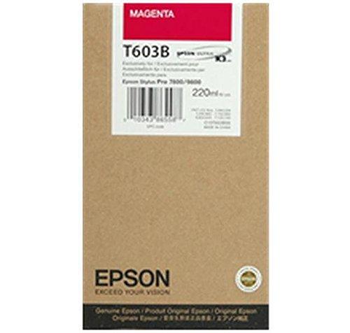 Ultrachrome Magenta Ink (Epson UltraChrome K3 Ink Cartridge - 220ml Magenta (T603B00))