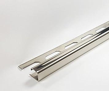 10 Stuck A 2 50m 25 Lfdm Edelstahlschiene V2a Glanzend 10mm