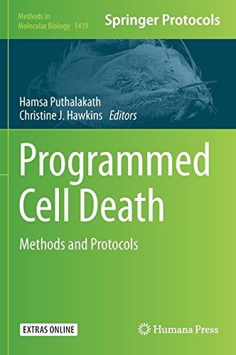 Programmed Cell Death: Methods and Protocols (Methods in Molecular Biology)