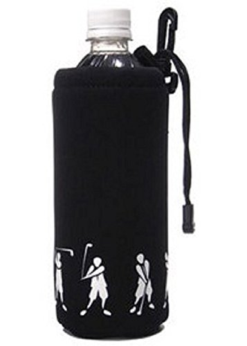 prene Bottle Holder with Drawstring and Bag Clip for 16-20oz Bottles (20 Oz Neoprene Bottle)