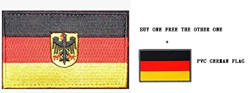 GERMAN FLAG OF GERMANY EAGLE DEUTSCHLAND COUNTRY TACTICAL VE