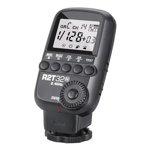 Flashpoint R2T 32 Channel 2.4GHz Manual and HSS Transmitter for Nikon (XT32-N) by Flashpoint