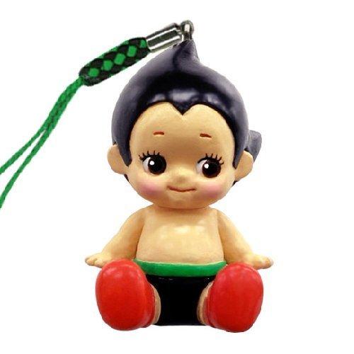 - Astro Boy Cell Phone Strap : Kewpie Mascot Mini Figure with Loop - 1.5