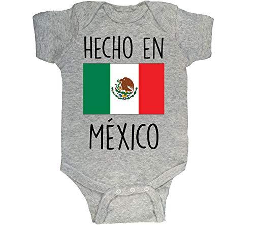 86ab5f18b Bebe Bottle Sling Hecho en México Onesie Made in Mexico Bodysuit (Grey