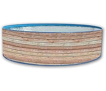 TOI - Piscina PINUS CIRCULAR 350x90 cm Filtro cartucho 2 m³/h.: Amazon.es: Juguetes y juegos