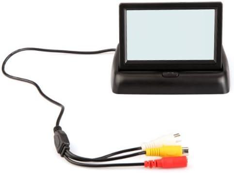 Kkmoon 4 3 Zoll Tft Faltbare Farb Monitor Mini Lcd Monitor Für Kamera Dvd Vcr Elektronik