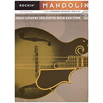 Hal Leonard Rockin' Mandolin Book and CD