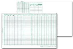 EGP Topwrite Payroll Journal Sheet