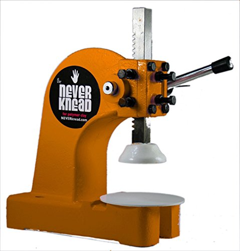 NEW TOOL for Polymer Clay Kneading Machine for Artists - STOP KNEADING Clay Sculpey Fimo Kato Pardo & More by NEVERknead