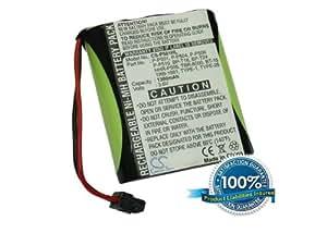 Battery for Panasonic KX-TC1520B, 43-3558, DXA6505, N4HKGMB00001, ET-918 +Free External USB Power