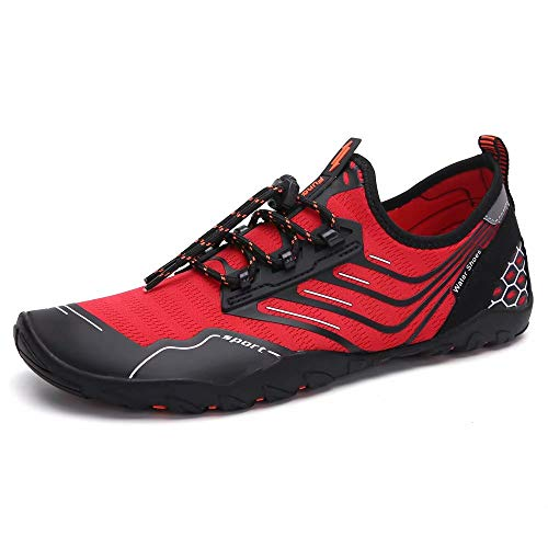 Water Sport Shoes Womens Mens Quick-Dry Barefoot Aqua Socks Shoes for Pool Swim Surf Walking Running Outdoor Beach Yoga