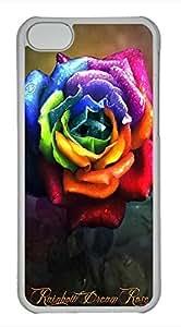 iPhone 5c case, Cute Color Of Roses iPhone 5c Cover, iPhone 5c Cases, Hard Clear iPhone 5c Covers
