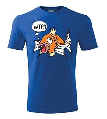 Colour Fashion Pokemon Magikarp Men T shirt