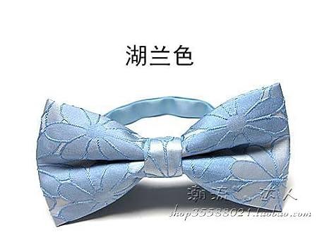 IXI IXI Pajarita de gama alta corbata de lazo decoración de la ...