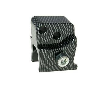 H/öherlegungssatz CNC 2-Loch carbon-look