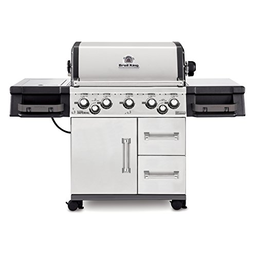 Broil King Imperial 590 - Stainless Steel - 5 Burner - Natural Gas Grill Broil King